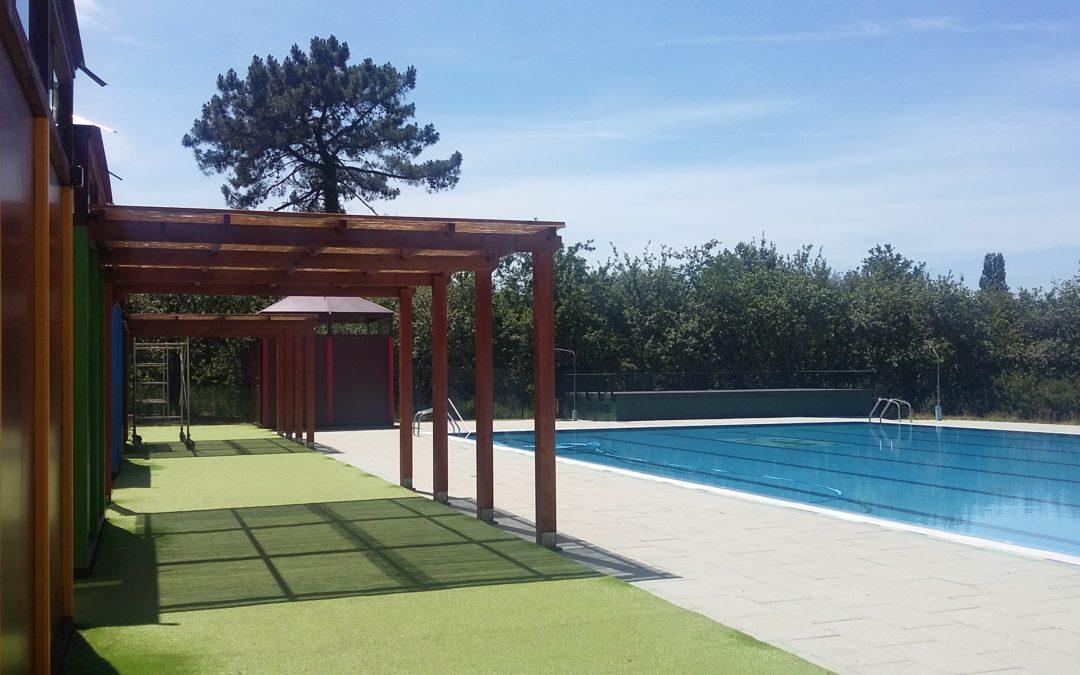 Apertura da piscina municipal
