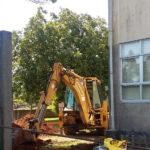 Reposición de saneamento no CEIP San Ramón