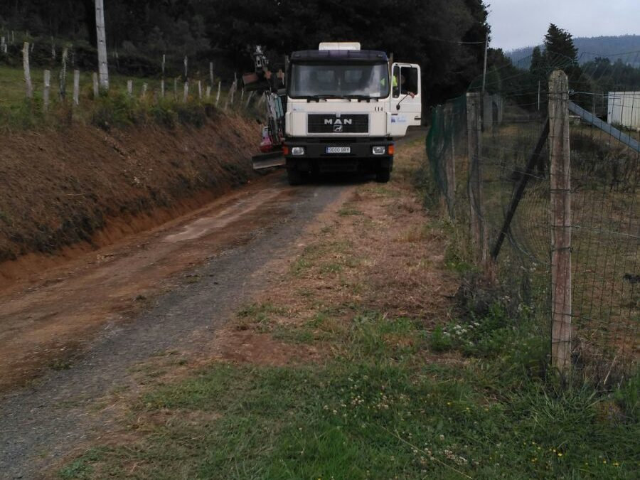 Inicio das obras do plan de mantemento e mellora de vías 2017