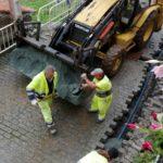 Substitución e mellora da rede de agua e de saneamento no entorno do Castelo