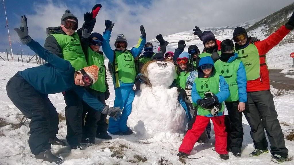 Abre o prazo de preinscrición na campaña de esquí da Deputación