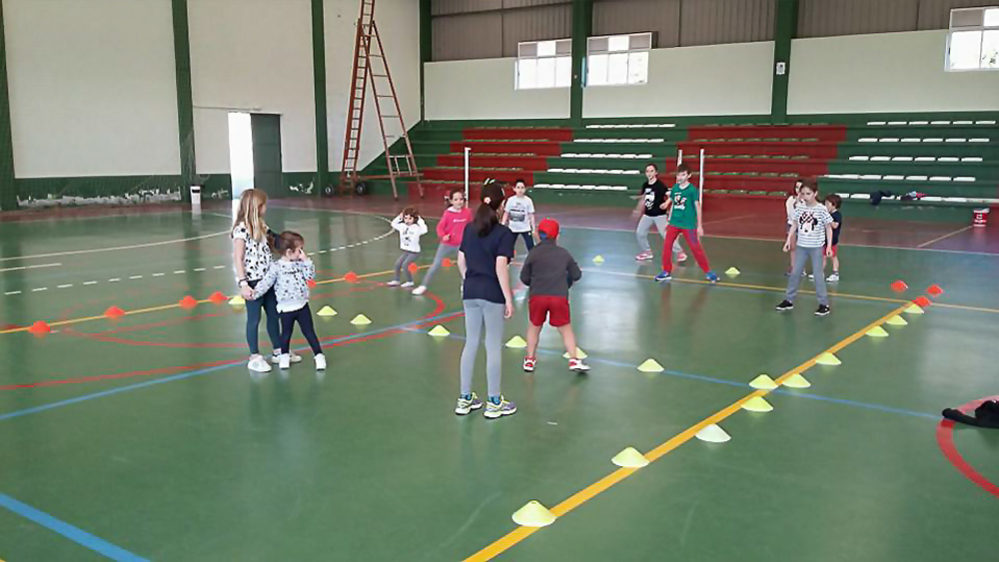 O Concello organiza un campamento deportivo para a rapazada durante as vacacións da Semana Santa