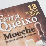 A III Feira do Queixo volverá encher Moeche de sabores e actividades o domingo 18 de marzo