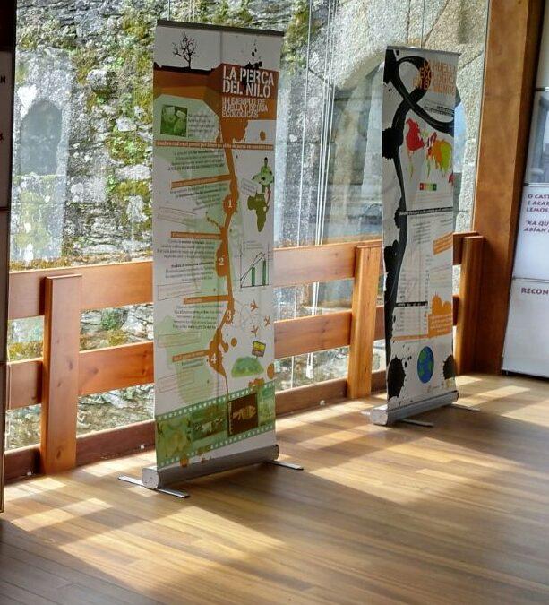 O castelo de Moeche acolle a exposición A pegada ecolóxica