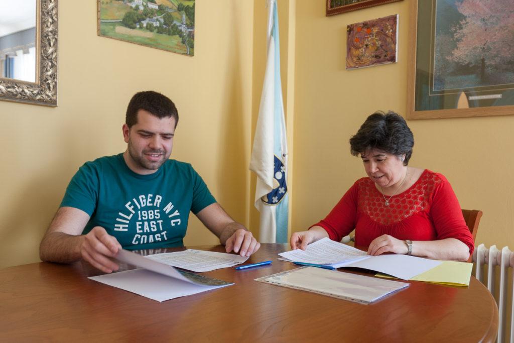 O Concello de Moeche suscribe coa Asociación Ecuestre 23 de Abril o convenio de colaboración na Feira do Cabalo deste ano