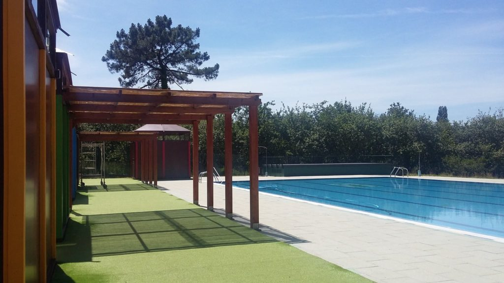 A piscina de Moeche abrirá ao público o 18 de xuño