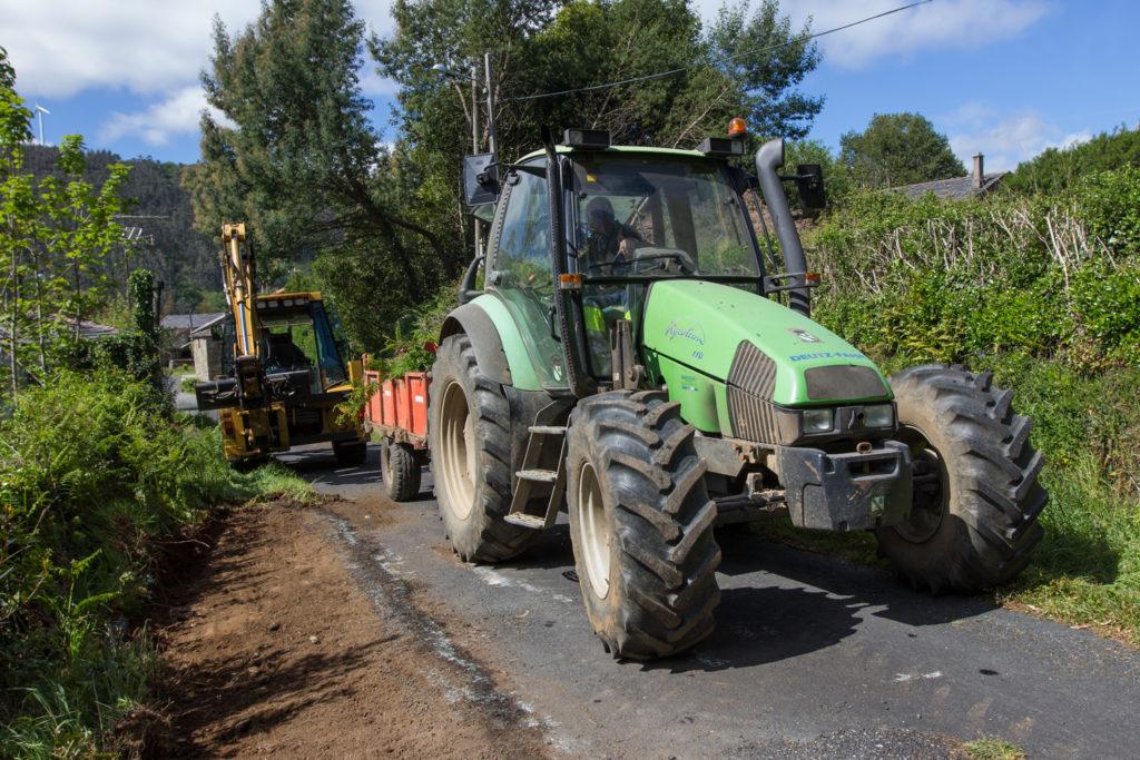 As unidades móbiles da ITV de vehículos agrícolas non acudirán aos concellos antes do remate da prórroga