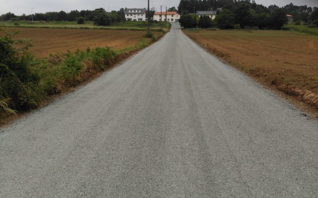 O Concello remata as obras do primeiro proxecto de pavimentación de camiños