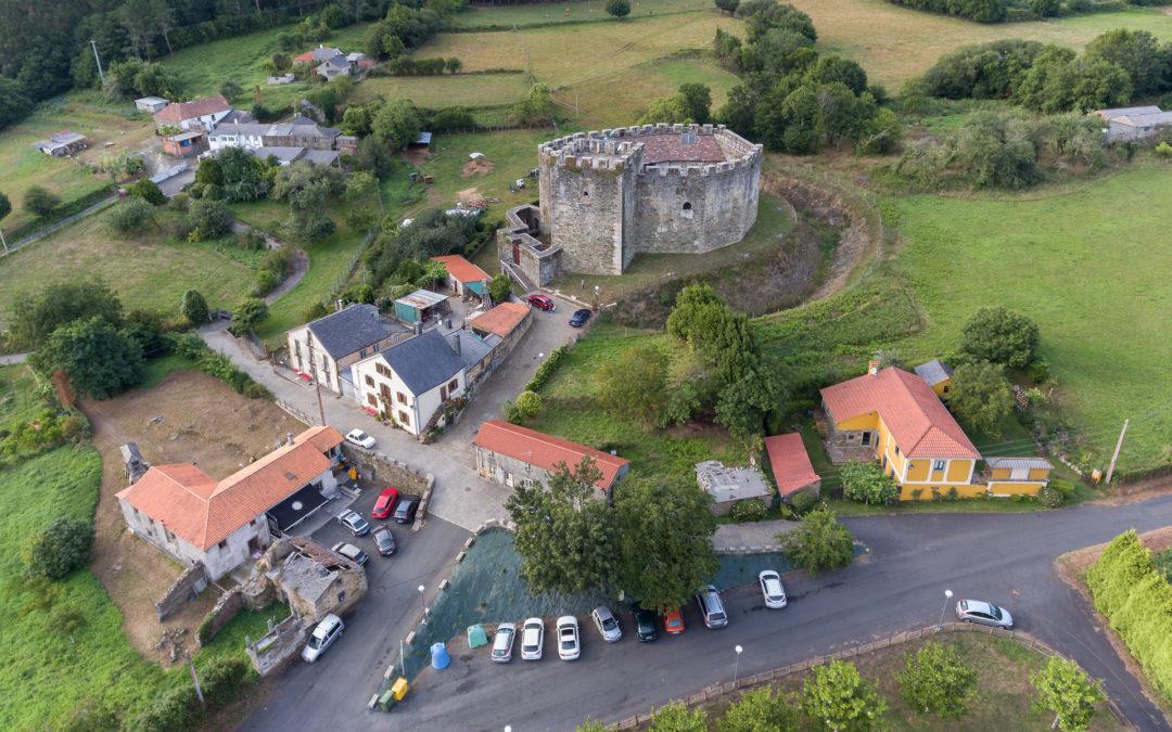 O castelo de Moeche bate marcas de visitantes