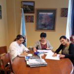 O Concello e a ANPA do CEIP San Ramón asinan o convenio de colaboración para actividades