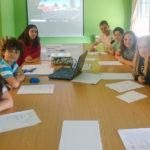 O Grupo de Participación Infantil toma as súas primeiras decisións