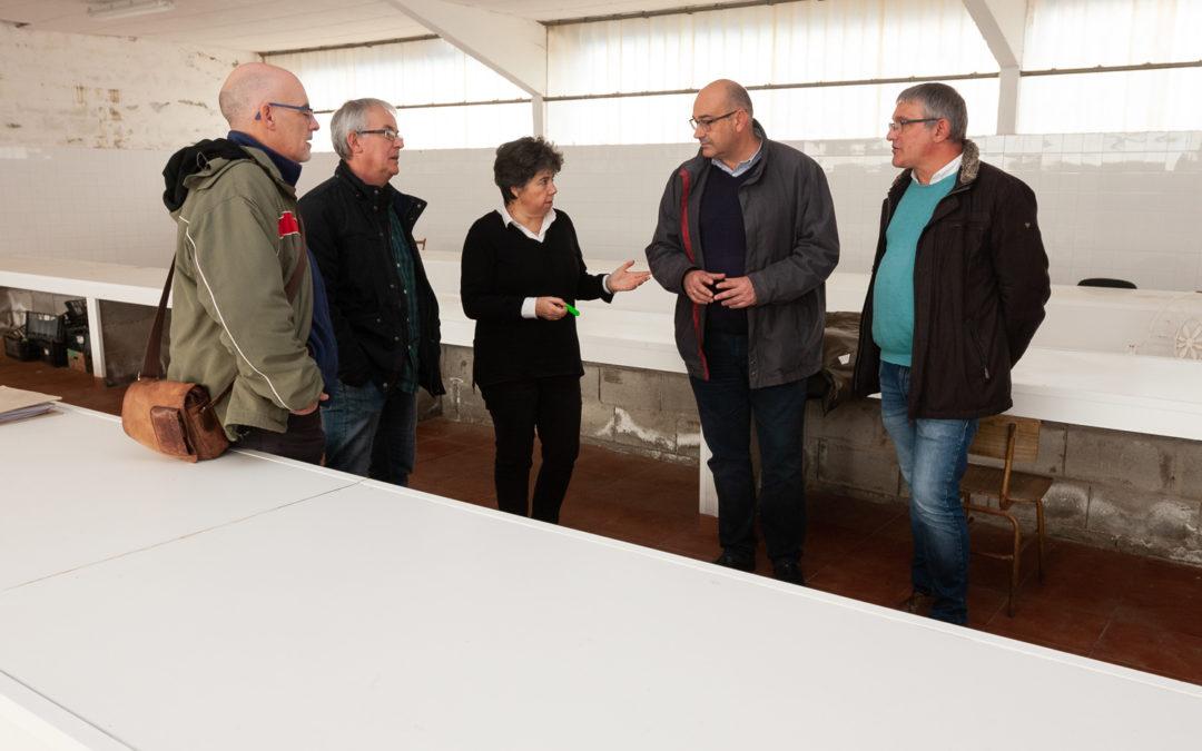 Moeche, San Sadurniño, Cerdido e Valdoviño proxectan converter a antiga nave dos queixos nun centro de transformación alimentaria