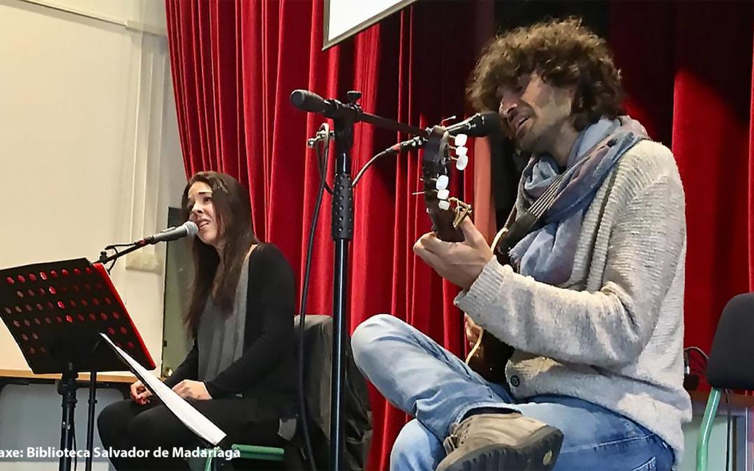 Xoán Curiel e Iris Gey pechan este sábado o Castelo de Sons