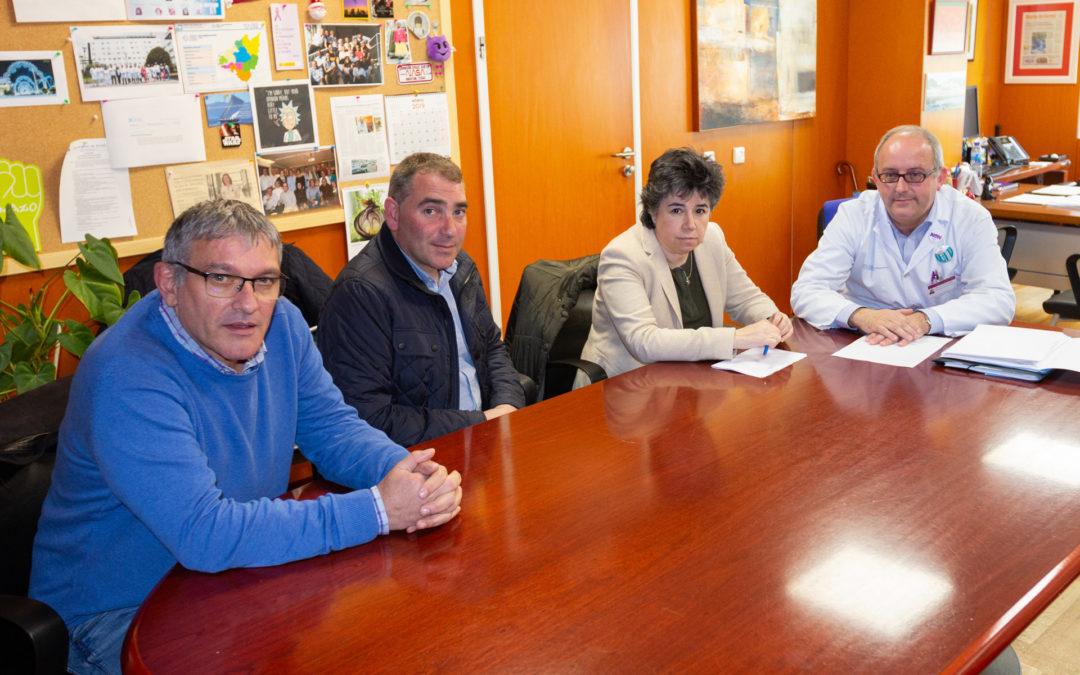 Cerdido, Moeche e San Sadurniño reúnense co Xerente da área sanitaria