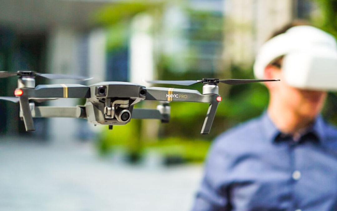 Este sábado poderemos pilotar un dron na nave do Mercado de Moeche