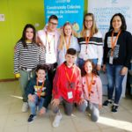 A rapazada do CLIA no I Encontro Autonómico de Consellos Locais da Infancia