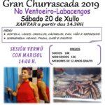 GRAN CHURRASCADA 2019 – SÁBADO 20 DE XULLO