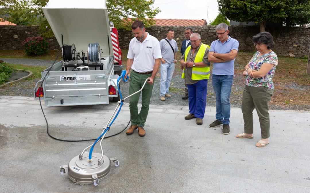 San Sadurniño e Moeche mercan unha limpadora de beirarrúas con axuda do Fondo Ambiental
