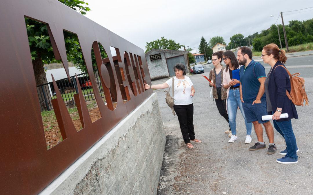 O Concello recepciona a segunda fase das melloras na feira