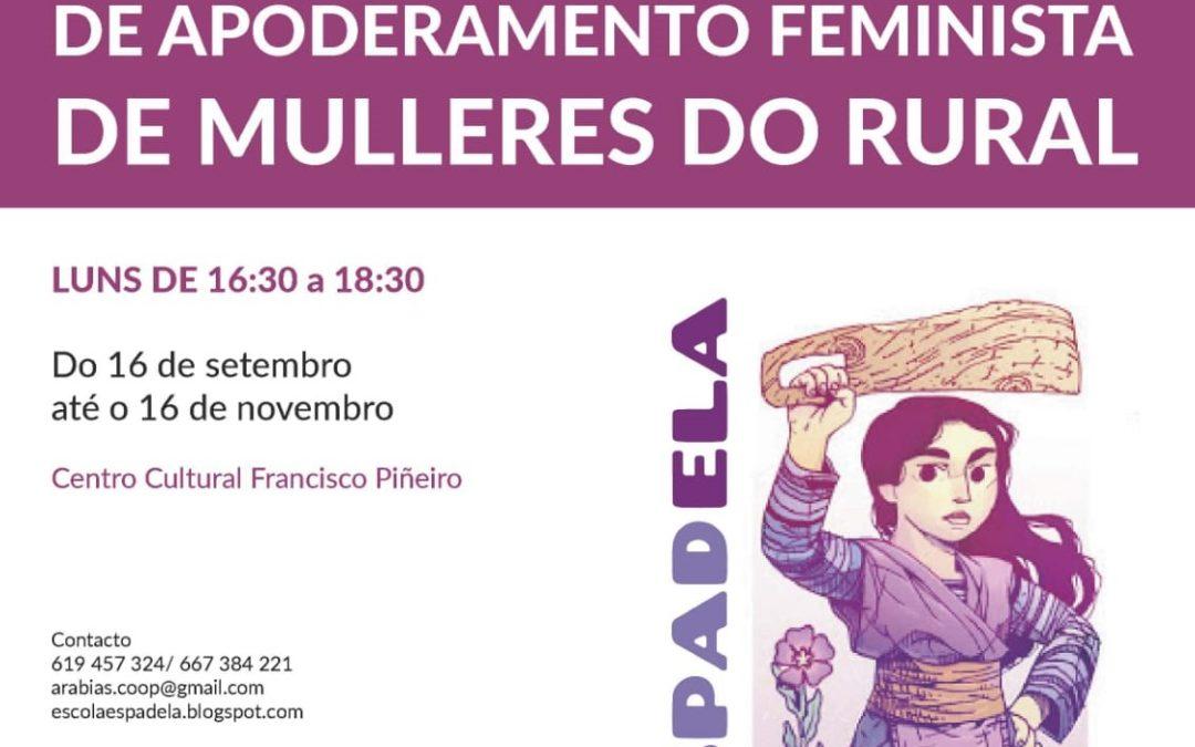 Escola de apoderamento feminista de mulleres do rural