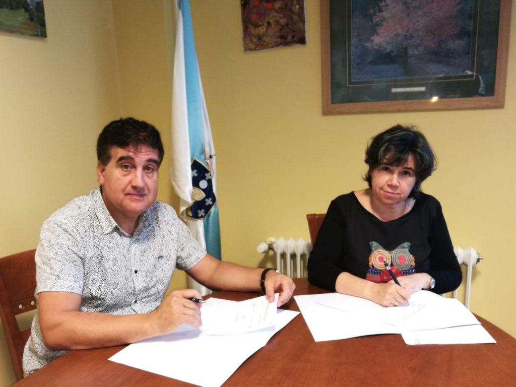 Sinatura dun novo convenio de colaboración coa ADCR Moeche