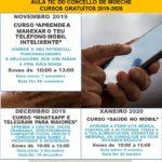 Tres novos cursos na Aula TIC de Moeche para iniciarse e perfeccionar o manexo de móbil