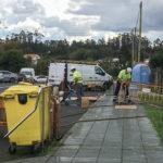 Comeza a renovación da iluminación pública na rúa Cristo do Rañal