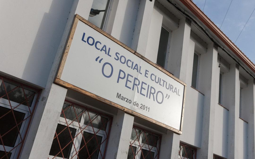 O local social do Pereiro contará en breve cun sistema de calefacción máis aforrador, eficiente e sostible