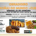 OBRADOIRO COCIÑAS DO MUNDO - CUBA -