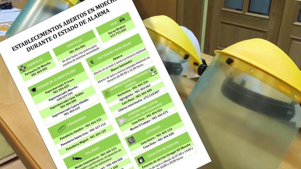 25 negocios do territorio continúan abertos durante o Estado de Alarma