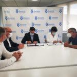 Concello e Deputación asinaron este mediodía o convenio de 103.000 euros para a posta en marcha do Centro Comarcal de Apoio Desenvolvemento Rural