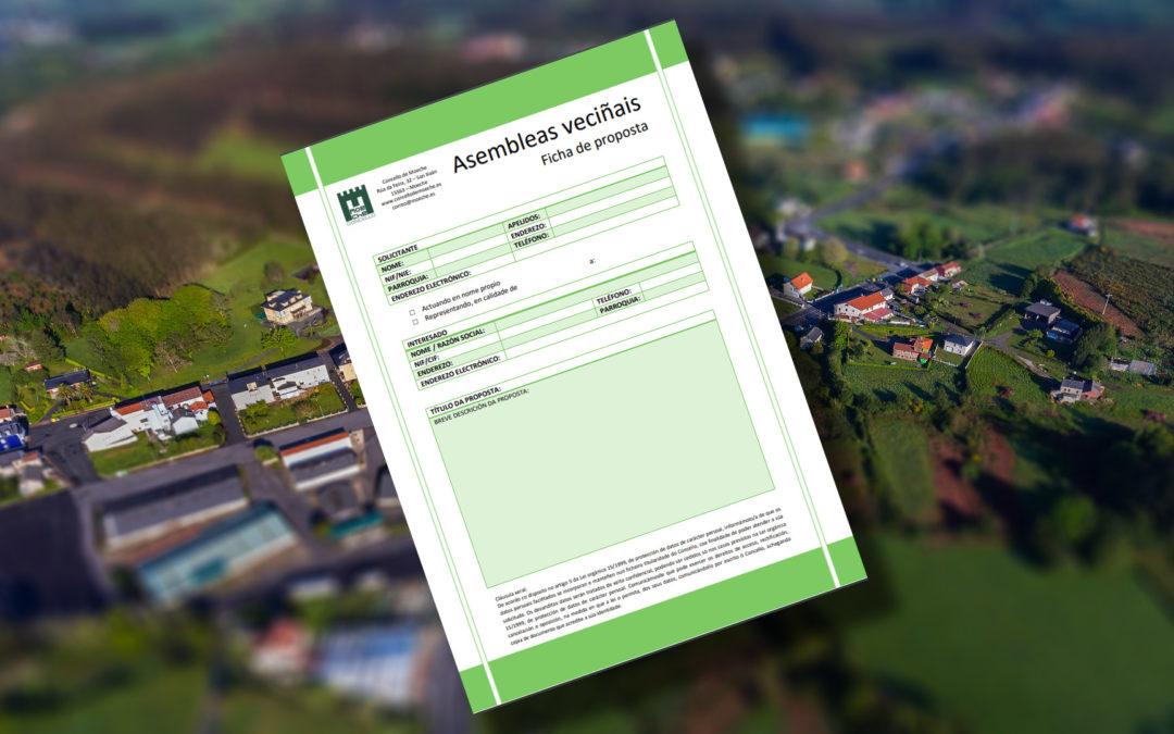 Xa se poden presentar propostas para o orzamento municipal de 2021