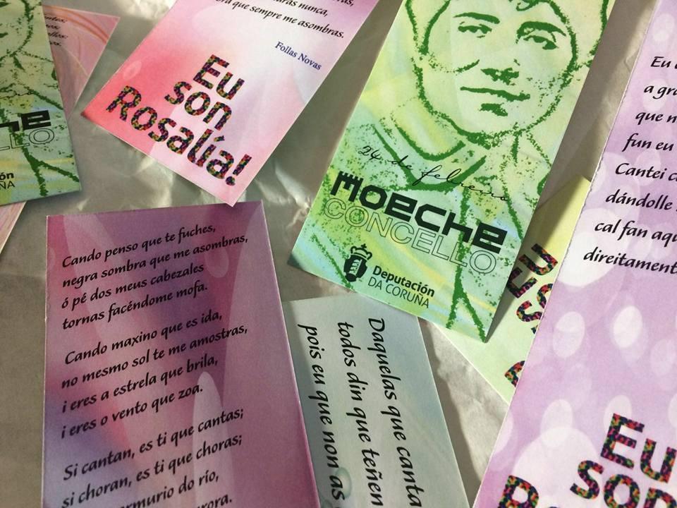 """Os Quinquilláns representarán o 28 de marzo """"A pluma viva de Rosalía"""" no Centro Cultural Francisco Piñeiro"""