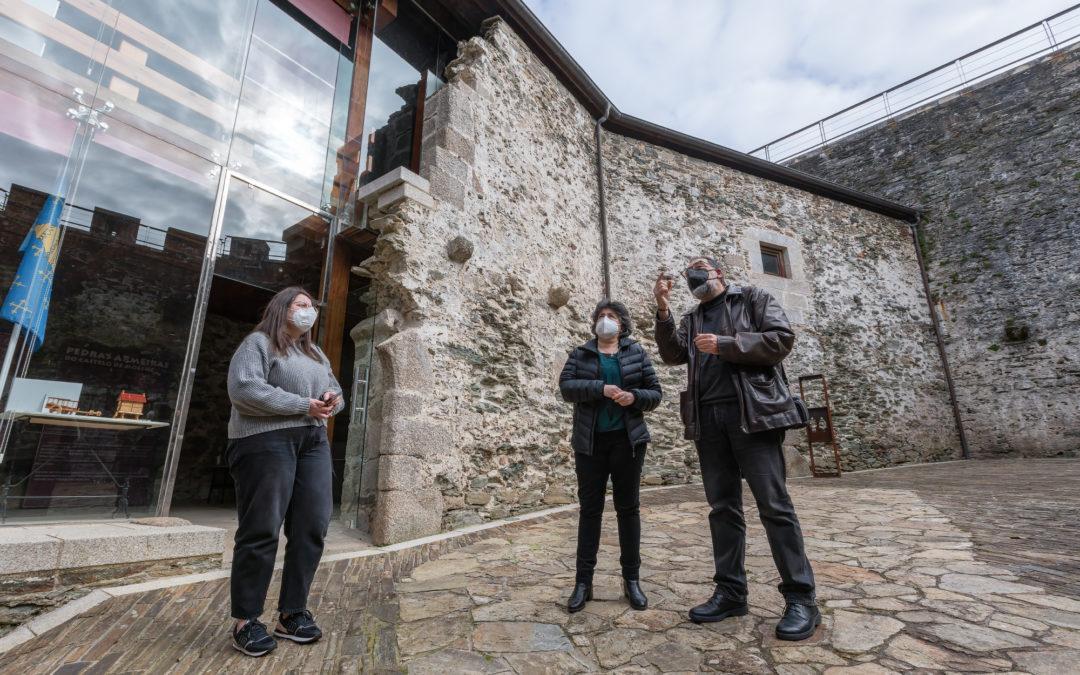 Concello e Xunta buscan fórmulas de colaboración para o mantemento do castelo