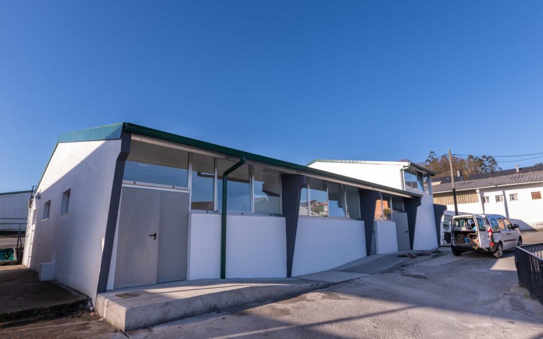 O Concello recepciona as obras do Centro comarcal de apoio ao Desenvolvemento rural