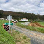 Empezan as obras de ampliación do saneamento no lugar do Retorno