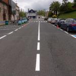 O Concello renova a sinalización horizontal e vertical en distintos puntos do territorio