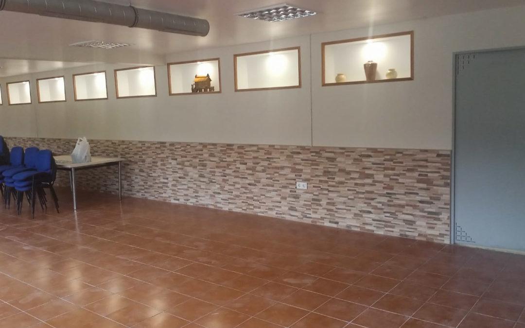 Finalizan as obras de mellora no local social do Pereiro, en San Xurxo